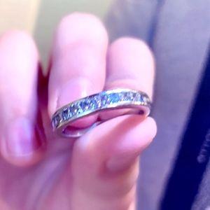 1.0 ct. Diamond Princess Cut Ring
